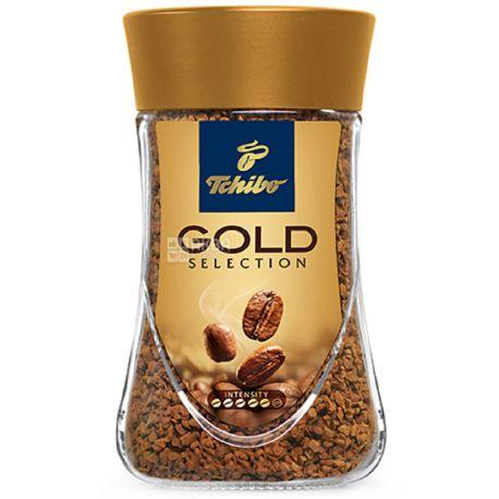 Tchibo Gold Selection, 100 г, Кофе Чибо Голд Селекшн, растворимый