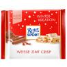 Ritter Sport, 100 г, Білий шоколад, Кориця та хрусткі пластівці