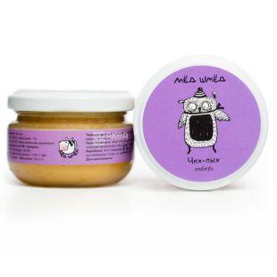 Honey smed, 150 g, Honey, Sneeze, Ginger, glass
