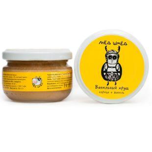 Honey smed, 150 g, Honey, Vanilla Khrushcha, Cinnamon + vanilla, glass