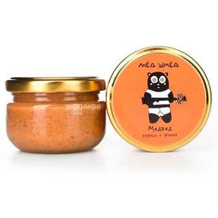 Between shm, 50 g, Honey, Bear, Korica + Finik, glass