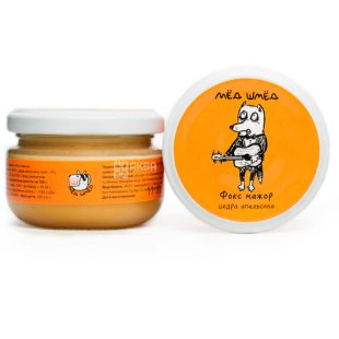 Honey smed, 150 g, Honey, Fox major, Orange peel, glass