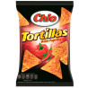 Chio, 125 g, Corn chips, Tortillas, Wild Paprika