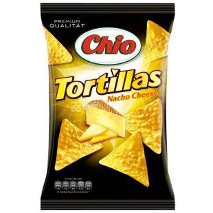 Chio, 125 г, Чипси кукурудзяні, Tortillas, Nacho Cheese