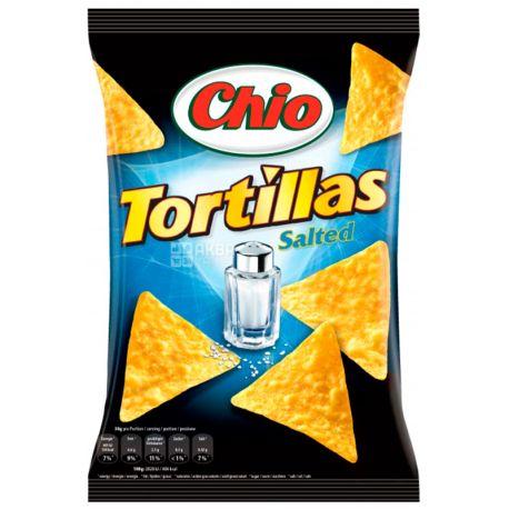 Chio, 125 г, Чипсы кукурузные, Tortillas, Salted