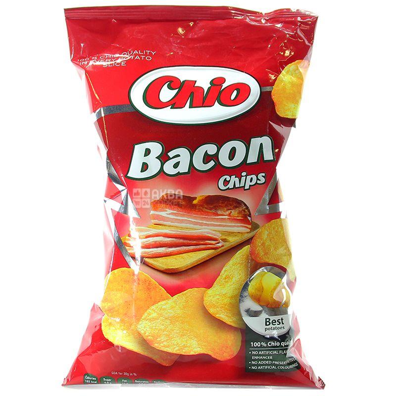 Chio, 75 г, Чипси картопляні, Chips, Bacon