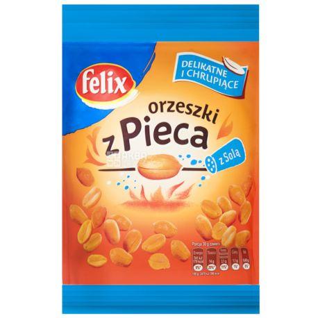 Felix Double Roasted Peanuts Salted, 70 g