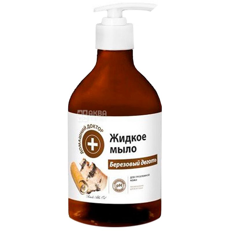 House doctor, 480 ml, Liquid soap, Birch tar