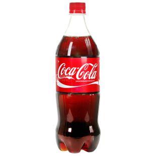 Coca-Cola, 1 л, Кока-Кола, Вода сладкая, ПЭТ