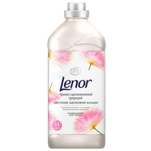 Lenor, 1,785 л, Кондиціонер-ополіскувач для білизни, Цвітіння шовкової акації