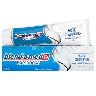 Blend-a-med, 100 мл, Зубна паста, Комплекс , Екстра відбілювання