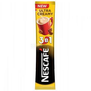 Nescafe, 20 шт. по 13 г, Кавовий напій, Ultra Creamy, 3 в 1, в стіках
