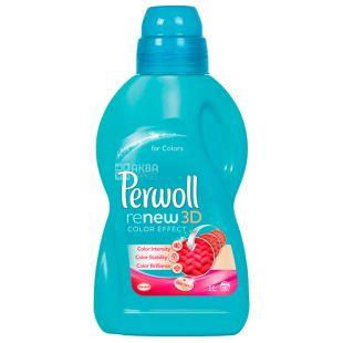 Perwoll, 1 л, Рідкий засіб для прання кольорових тканин, Brilliant Color