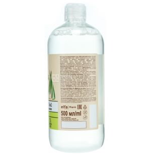 Зеленая аптека, 500 мл, Мицеллярная вода, 3 в 1, Зеленый чай и алоэ