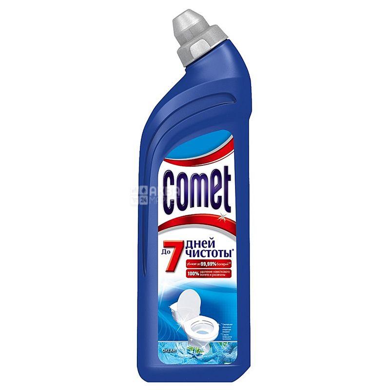 Comet, 750 мл, Средство для чистки унитаза, Океан