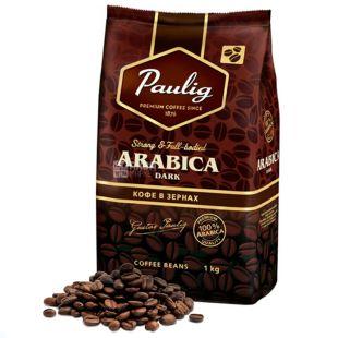 Paulig Arabica Dark, Coffee Grain, 1 kg