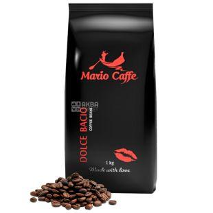 Mario Caffe, 1 кг, Кава в зернах, Dolce Bacio, м/у