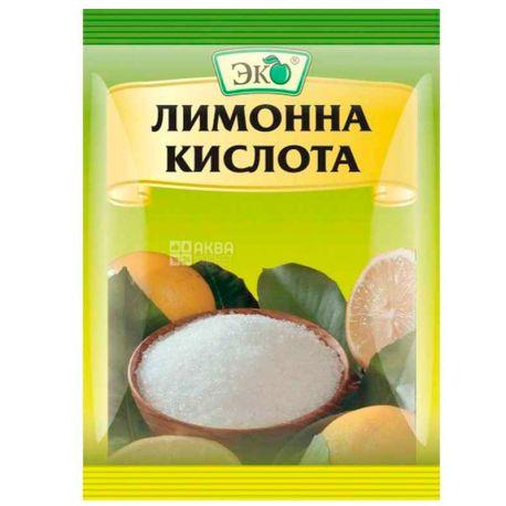 Еко, 25 г, лимонна кислота