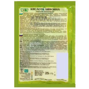 Eco, 25 g, citric acid
