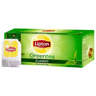 Lipton, Clear Green Orient, 25 шт., Чай Липтон, Чистый Зеленый Восток, Зеленый