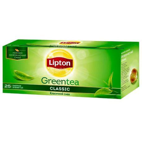 Lipton, 25 шт., чай зеленый, Clear Green Orient