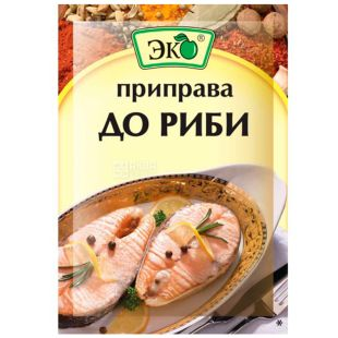 Eco, 20 g, seasoning for fish