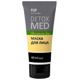 Elfa Pharm, 40 ml, Face Mask, Detox Med