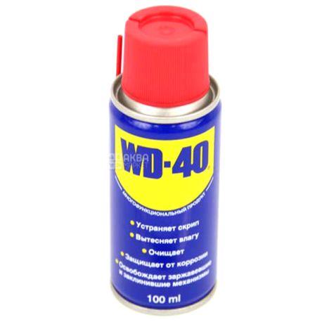 WD-40, 100 мл, Мастило, Спрей, ж/б