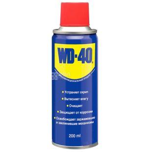 WD-40, 200 мл, Мастило, Спрей, ж/б