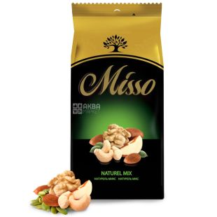 Misso, Naturel mix, Горіхове асорті, 125 г