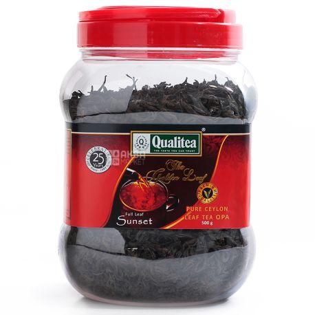 Qualitea, 500 г, Чай черный, Sunset, ПЭТ