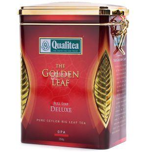 Qualitea, 250 г, Чай чорний, Deluxe, ж/б