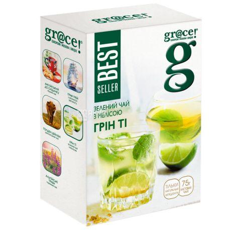 Grace, Мелисса, 75 г, Чай Грейс, зеленый