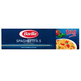 Barilla, 1 кг, Макароны, Спагетти №5