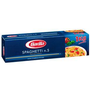 Barilla Spaghetti №5, 1 кг, Макароны Барилла Спагетти