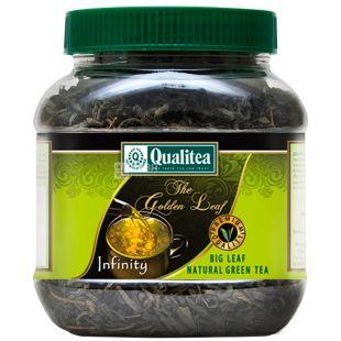 Qualitea, Infinity, 200 г, Чай Кволити, Инфинити, зеленый, среднелистовой, ПЭТ