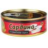 Brivais Vilnis, 240 g, Sardine in tomato sauce, w / w