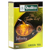 Qualitea, Infinity, 100 г, Чай Кволіті, Інфініті, зелений, среденьолистовий
