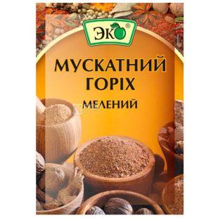 Eco, 10 g, Nutmeg, Ground