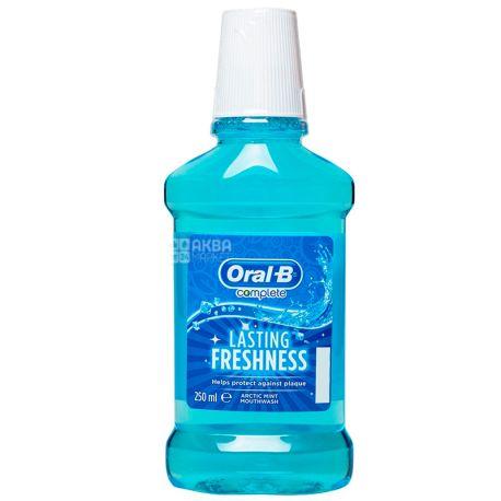 Oral-B, 250 мл, Ополаскиватель для рта, Lasing Fresh, Арктическая мята