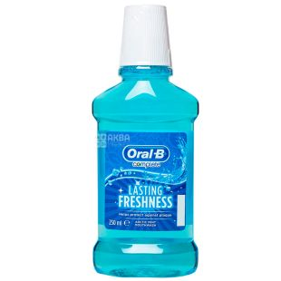 Oral-B, 250 мл, Ополіскувач для рота, Lasing Fresh, Арктична м'ята