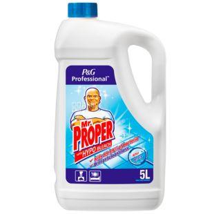 Mr. Proper, Средство для мытья полов и стен, Дезинфицирующее, 5 л