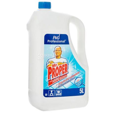 Mr. Proper, 5 л, Засіб для миття підлоги та стін, Дезінфікуючий, 5 л