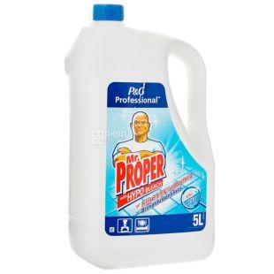 Mr. Proper, 5 л, Засіб для миття підлоги та стін, Дезінфікуючий