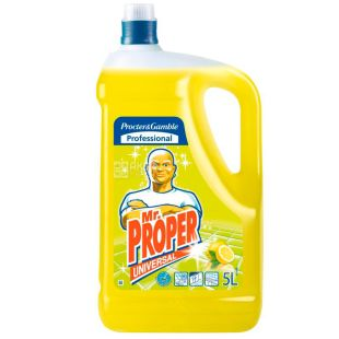 Mr. Proper, 5 l, Floor and wall cleaner, Disinfectant, Lemon