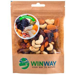 Winwey, 100 г, Орехово-фруктовая смесь, Витаминная