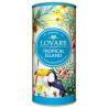 Lovare, Tropical Island, 80 г, Чай Ловара, Тропічний острів, Зелений, тубус