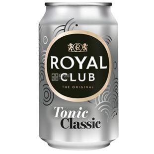 Royal Club, 0,33 л, Солодка вода, Tonik Classic, ж/б