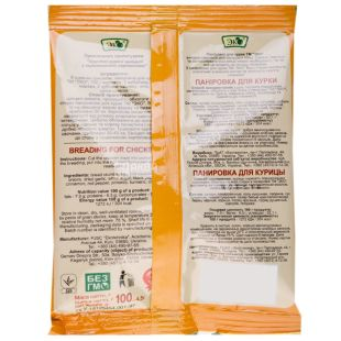 Eco, 100 g, Breading for chicken