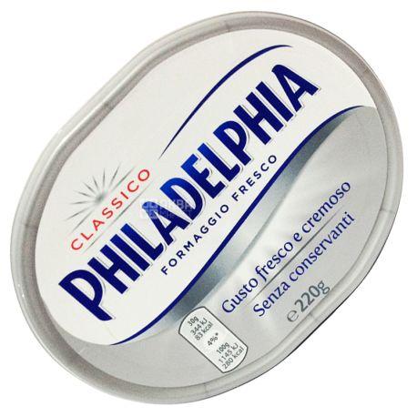 Philadelphia Classico, 220 г, 4%, Крем Сир